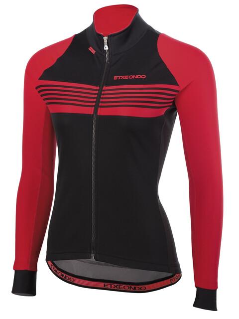 Etxeondo Malda Windstopper Jacket Women Black/Red